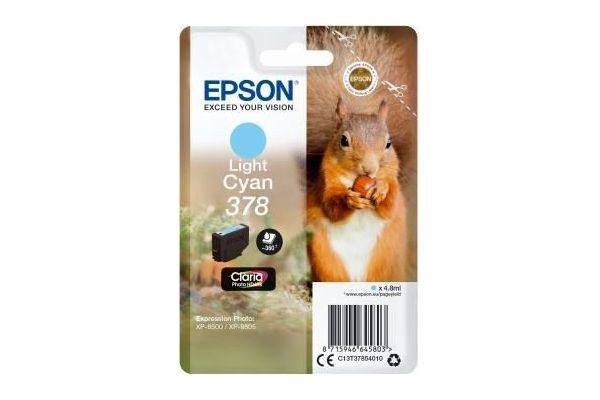 378CYANCLAIRSRIEECUREUIL EPSON