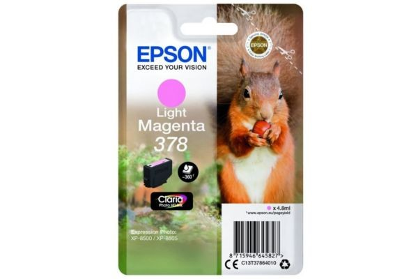 378MAGENTACLAIRSRIEECUREUIL EPSON