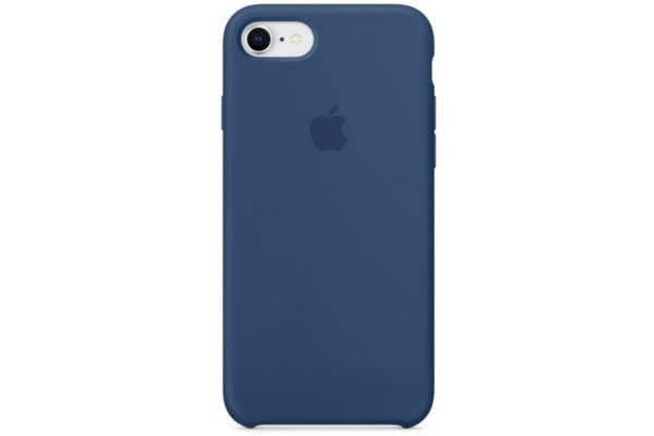 IPHONE78SILICONEBLEU APPLE